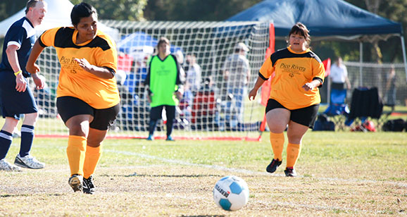 Pico Rivera athletes compete in soccer at Fall Games
