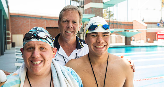 South Bay athlete prepare for aquatics competitions.