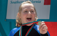 IMAGE: More than 13,000 Special Olympics athletes compete all year long in 12 Olympics-type sports.