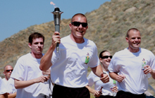 IMAGE: The Law Enforcement Torch Run is the largest grassroots fundraiser for Special Olympics.