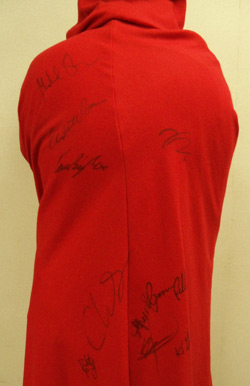 Own a signed red cloak worn in Twilight: New Moon